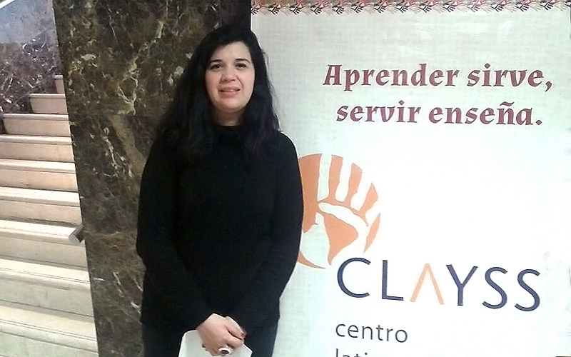Académica de Trabajo Social expuso en IV Jornada de Investigadores sobre Aprendizaje-Servicio en Buenos Aires