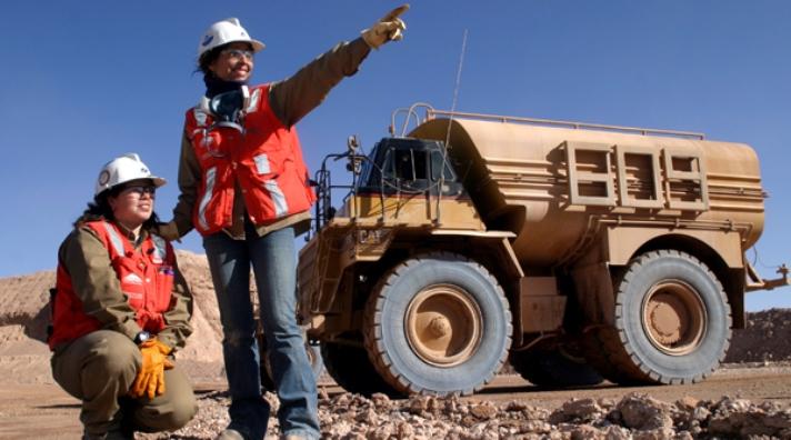 Techo de cristal: el caso de las mujeres en la minería