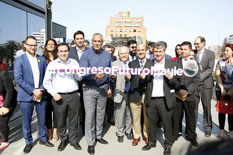 Universidad Santo Tomás en lanzamiento de Congreso Futuro en Talca